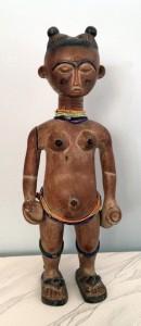 Auc6-OldAshantiFemaleSculpture