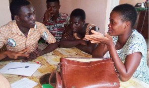An Anansi tutoring session.